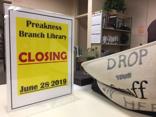 While the Preakness Library Closes, a  New Pre-School Opens