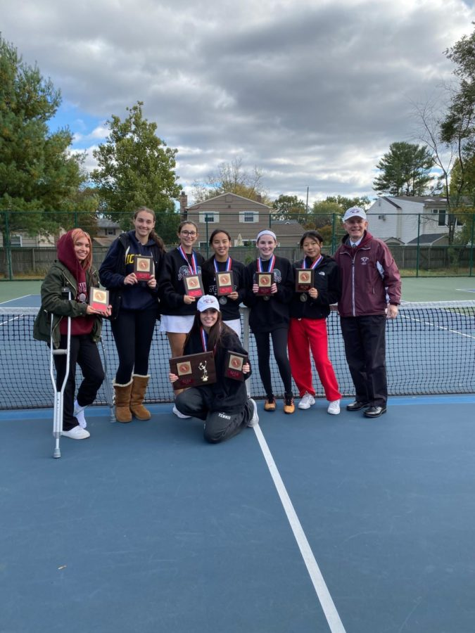 Girls Tennis Wins Their 17th Consecutive County Championship