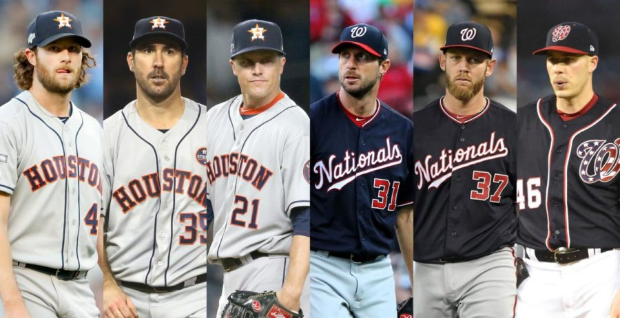 Both+teams+are+backed+by+their+strong+pitching+staff.+++The+Astros+with+Gerrit+Cole%2C+Justin+Verlander%2C+and+Zack+Greinke+and+the+Nationals+with+Max+Scherzer%2C+Stephen+Strasburg%2C+and+Patrick+Corbin.