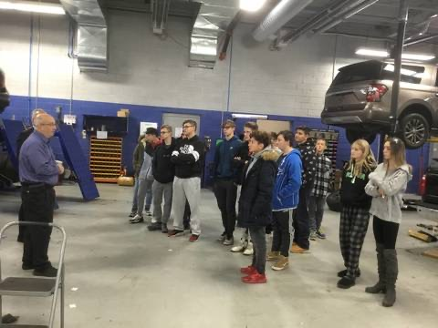 WHHS Launches New Automotive Program Partnership