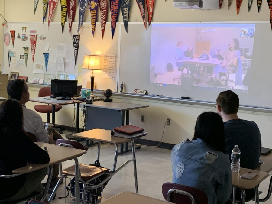 Stereotypes, Culture, and Conversation: Hills English Class Skypes Denmark Students