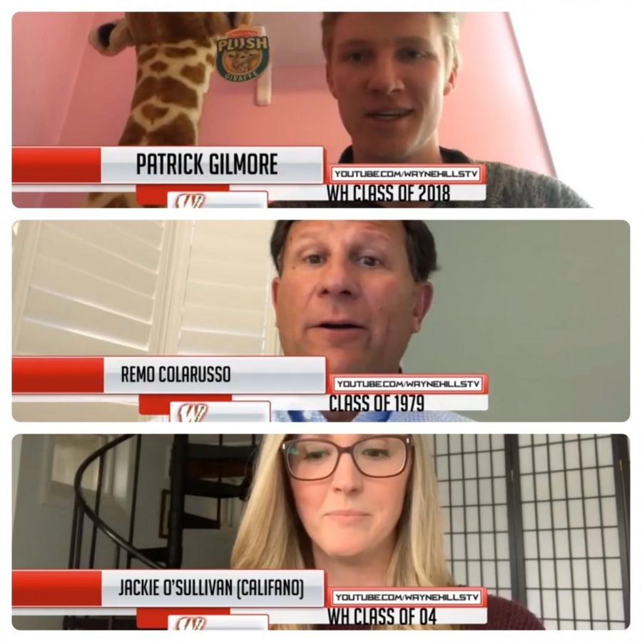 Hills Alums Share their Advice via Morning Announcements