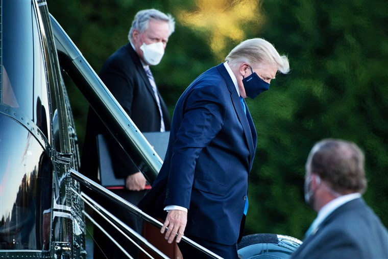Trump and COVID - Updates on His Battle and the Infection of Numerous WH Officials