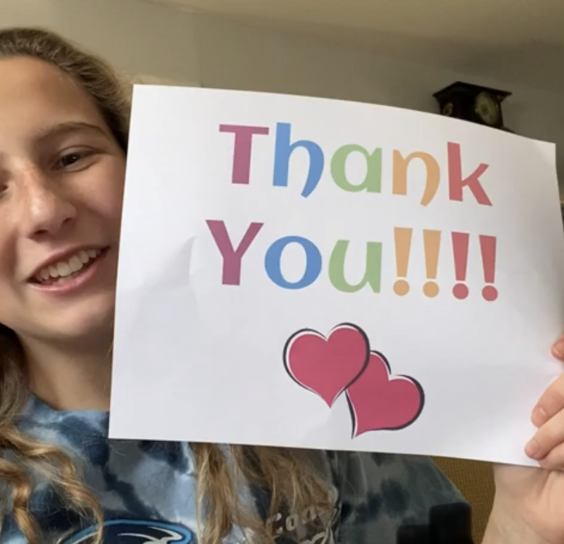 NHS Thanks Teachers Through Personalized Videos