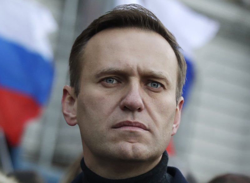 Navalny Sentenced to Work Camp Near Moscow
