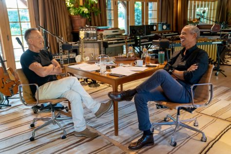 Barack Obama and Bruce Springsteen Launch a new Spotify Podcast