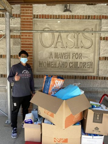 NHS Donates Supplies to Oasis Haven for Women and Children