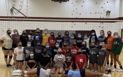 Navigation to Story: Girls Volleyball Ready to Take on Their Season