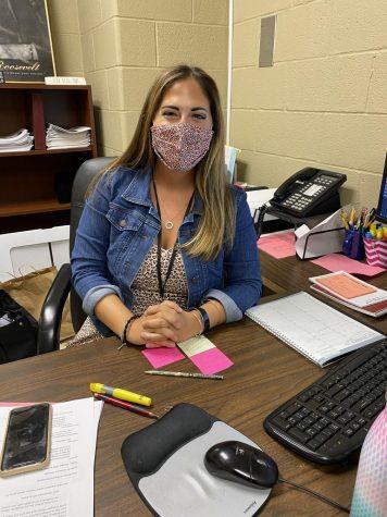 New to the school: Meet Ms. Kartsakalis