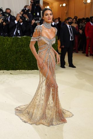 Picture of Kendall Jenner at the Met Gala
